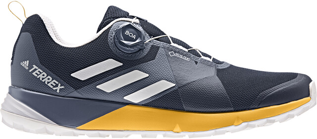 adidas TERREX Two Boa GTX Shoes Herren collegiate navygrey oneactive gold